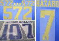 2019 2020 Real Madrid altın damgalama futbol namesets TEHLİKESİ Modric plastik baskı harfleri etkiledi futbol oyuncunun sıcak baskılı etiket