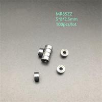 100 шт. / лот MR85ZZ MR85 ZZ радиальный шарикоподшипник 5x8x2.5 мм миниатюрный экранированный MR85Z 5*8*2.5 мм 675ZZ 675 ZZ