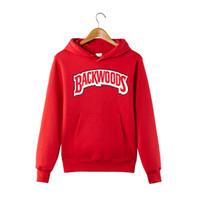 Kış Sonbahar Backwoods Hoodie Siyah Beyaz Gri Hoodie Backwoods Uzun Kollu Hip Hop Tasarımcı Sweatshirt Boyut S-4XL