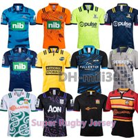 Super Rugby Jersey-Hemd 2019 Chiefs 18/19/20 Neuseelands Super Chiefs Blues Hurricanes Kreuzfahrer Highlanders Rugby Jerseys Hemden S-3XL