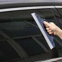 Легкий вес силиконовый Автомобильный воды Стеклоочиститель скребка мытья оконного стекла Clean Душ Сушат автомобиль Accesorios De Coche # T15