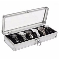 Watch Box 6 Grid Insert Slots Jewelry Watches Display Storag...