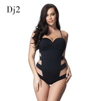 a34a028c27d7 Sexy Transparent Mesh Plus Size Swimwear Women One Piece Bandeau Swimsuit  Push Up Bathing Suit High Cut Backless Monokini