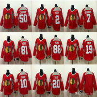 Chicago Blackhawks Red Training Jersey Hockey Jerseys 88 Patrick Kane 19 Jonathan 2 Keith Sharp 50 Crawford Hockey Jerseys