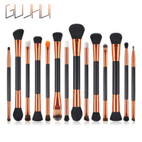 14PCS Double Head Make-up Pinsel Set Foundation Puder Lidschatten Highlight Pinsel Kits Make-up Lip Concealer maquillage Kosmetik Gesicht Tools
