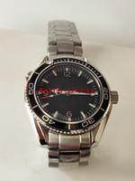 Роскошь, продавая наручные часы Новый 600 м из нержавеющей стали 42 мм 232.30.42.21.01.001 Хронометр Watch Professional James Bond 007 Мужские часы