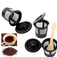 مقهى كأس reusable واحدة خدمة k- كوب مرشح ل keurig صانع القهوة إسبرسو القرون 9 قطعة / الوحدة DEC511