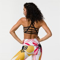 Bandage Fitness Suit Women Yoga Set Sport Bra&Pants Women...