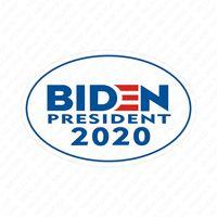 2020 Joe Biden Die US-Wahl beschriften das gedruckte Auto MAGNETIC Aufkleber Kühlschrankmagnet Geeignet für Metalle und Auto Trendy Dekorationen D7207