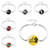 Je ne peux pas respirer Bracelet Lives Noir Matter George Floyd Creative Party Bracelet Parade américain Faveur 9styles RRA3154