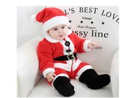 2019 New Arrival Baby Christmas Costumes Santa Claus Costume...