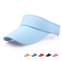 Hot Sale Unisex Empty Top Visor Cap Women Sunscreen Hats Adj...