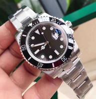 Высокое качество и высокие продажи мужские сапфировые стекла Высокое качество часы 116610 Автоматические механические часы 2813 Движение Нержавеющая сталь WaterPro