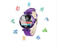 B80 SmartWatch Female Heart Rate Fitness Tracker Smart orologio Bracciale Sport Fashion Ladie Orologi Bluetooth per Xiaomi iPhone X telefono iwatch