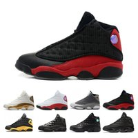 Tops 13 13s Lakers Rivais Ambiente Shoes Grey Homens Fantasma Black Cat Mulheres basquete Flint Bred Olive Sneakers
