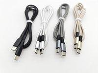Typ-C zum Typ-C-Kabel 1m / 3FT geflochtene USB 3.1 Daten Schnelles Ladegerät PD-Kabel Kabel für Huawei Samsung Xiaomi über DHL0000+
