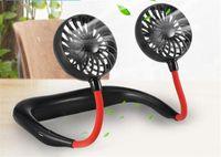 Hängenden Hals Fan USB Lade Reise tragbare Sport Fan faul kreative Mini-Fans Auto
