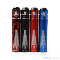 Vaporizador Rig Rig V3 Mod mecânico Mod v3 kit Red Copper RIGV3 Com RDA terk kit fit 18650 RDA atomizadores de alta qualidade livre 1
