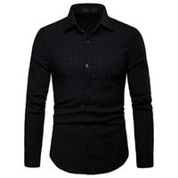 good quality Men Shirt Long Sleeve Mens Mens Clothing Brand ...