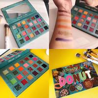 Imeago Dunut Eye Shadow Palettes 24 ألوان Erysians Eye Shadow Palettes ظلال العيون Shimmer Matte Eyeshadows لوحة عالية الجودة