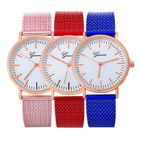 Unisex men geneva watches fashion PVC strap watch mens casua...