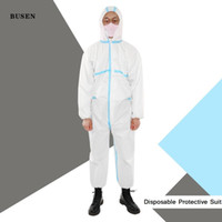 One- Piece Protective Strap Sealed Suit with Mask Anti- Bacter...
