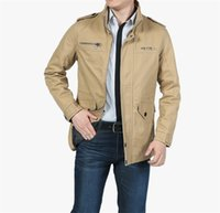 Men Jacket Coat New Fashion Trench Coat New Autumn Casual Si...