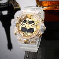 Frete Grátis G Sports Watch Popular Mens Verão GA100 Relógios Digitais Assista Escalada Digital S Choque Men 100 relógios de pulso Todo o trabalho ponteiro