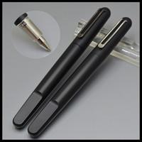 Luxus-MT-Stifte Hohe Qualität M Series Matte Schwarz Rollerball Stift Magnetische Haltekappe und Plattierung Carving Schreibwaren Büro Schulbedarf