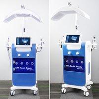 하이 엔드 하이드라 필링 미세 박피술 기계 하이드로 딥 클렌징 피부 회춘 여드름 치료 SPA 하이드라 시계 기계