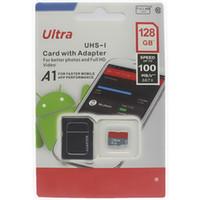 2020 calidad de la venta el último producto de la clase 10 de 32GB 64 GB 128 GB 256 GB de tarjeta micro SD adaptador de ampolla al por menor libre 25pcs Embalaje
