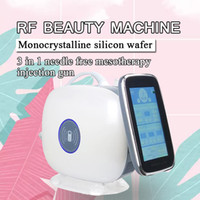 Top Quality Japão máquina Facial Injection Mesoterapia Microneedling RF Mesoterapia com EMS Function