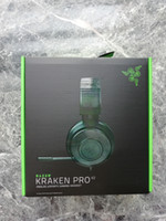 Razer Kraken Pro V2 Analog Sports Gaming Headset Wired Headphone para PC MAC PS4 XBOX UMA Mobile Device