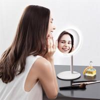 Xiaomi youpin Amiro Marca HD trucco dello specchio specchio cosmetico Daylight Make up USB Specchi spia di ricarica luci Salute Bellezza regolabile