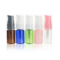 10ML المحمولة زجاجة إعادة الملء البلاستيك المكياج فارغة زجاجات مضخة محلول عينة مستحضرات التجميل الحاويات للسفر