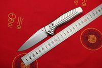 TIGEND Sınırlı Üretim AXIS 781 D2 Çelik Alüminyum kolu Katlanabilir bıçak kamp cebi Survival Av Mutfak Bıçakları EDC Aracı