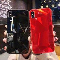 3D Diamond Pattern Phone Case For Iphone 11 pro Max X XR XS ...