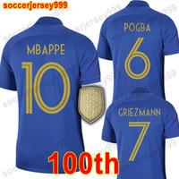 d5bf2c7bf3754 France soccer jersey football shirt Camiseta de fútbol de Francia 2019 100  aniversario 100 años 2