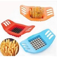 Edelstahl Gemüseschneider Kartoffelschneider Chopper Chips, die Werkzeug Kartoffelschneider Schneiden Frites Werkzeug Küche Zubehör