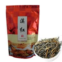 Hot ventes 250g noir chinois bio thé Yunnan Dianhong Thé rouge des soins de santé Nouveau thé vert aliments cuits emballage bande d'étanchéité