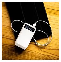 Бесплатная доставка 18650 X 3 Power Bank case power display QC3. 0 DIY держатель батареи для смартфона / pad