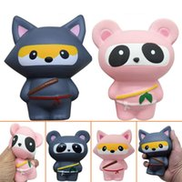 Squishy Fox Ninja Panda Ninja Slow Rising Toy Decompression ...