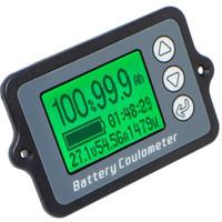 Freeshipping 1 Adet Tk15 Dc 8 V-80 V 100A Pil Coulometer Profesyonel Hassas Araç Akü Test Cihazı Elektrik Miktarı Ekran Monitör