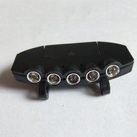 سوبر برايت 5 LED ضوء كاب العلوي كشافات رئيس المصباح غطاء الرأس قبعة ضوء كليب على الصيد ضوء مصباح رئيس DBC VT0219