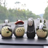 6 Designs 5 дюймов Мой сосед Тоторо Фигурки Игрушки Миядзаки Хаяо Модель игрушки ПВХ украшения автомобиля куклы с розничной коробкой ZLA552