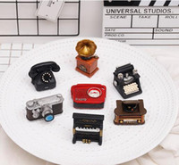 6pcs lot Retro Radio Camera typewriter phonograph Radio proj...