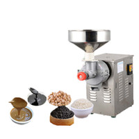 BEIJAMEI High Capacity Elektro Sesame Butter-Maschine 15kg / h Nusserdnussbutter Grinder Schleifmaschine