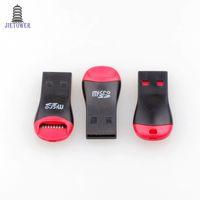 500 unids / lote USB 2.0 MicroSD T-Flash TF lector de tarjetas de memoria estilo silbato Envío Gratis
