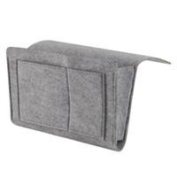 ورأى متعددة الوظائف السرير أريكة شنقا حامل التخزين المنظم صندوق مجلة الهاتف الذكي التحكم عن حقيبة التخزين جيوب بالجملة