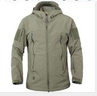 Neues Mens Stylist Wintermäntel im Freien Taktik warmen Strickjacke Fleece-Jacke für Männer Verdickung Ladungsmantel Mens Stylist Jacken